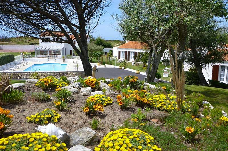 Résidence, village vacances, île d'Oléron