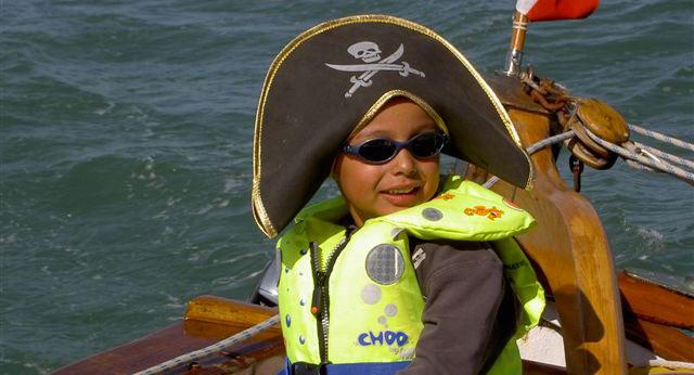 croisière Oléron, petit pirate sur la Marcelle