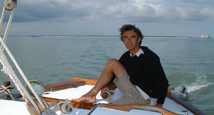 Croisière Oléron, René skipper de la Marcelle