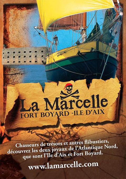La Marcelle voiliers croisière île d'Oléron