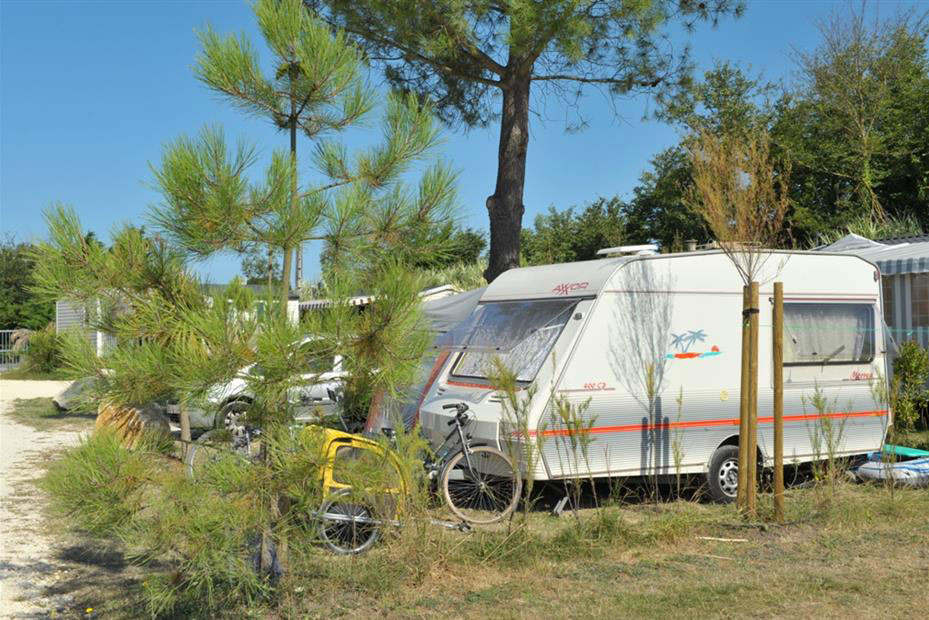 Camping Antioche d'Oléron, emplacement