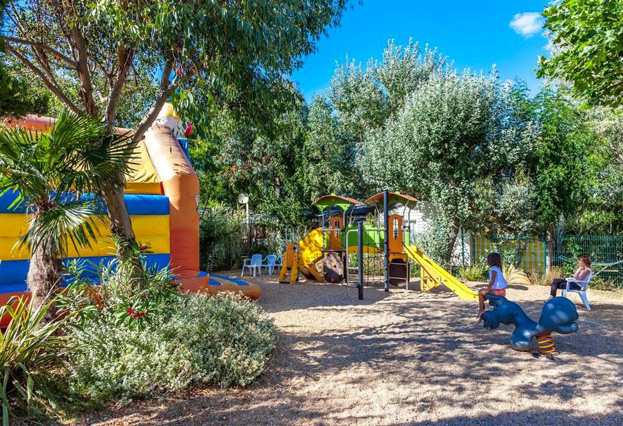 Camping Antioche d'Oléron, jeux-enfants