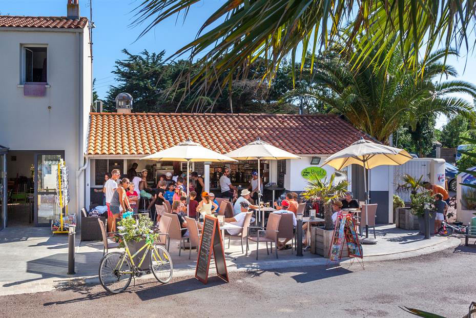 Camping Antioche d'Oléron, le restaurant
