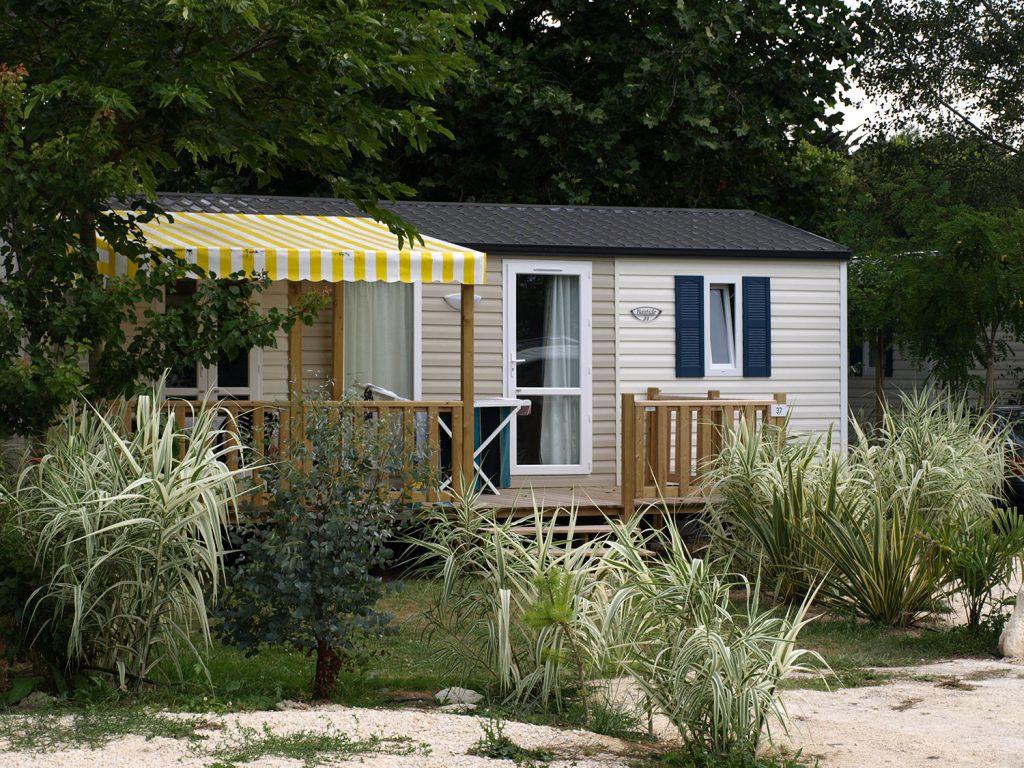 Camping Aqua 3 Masses, location de mobil-home
