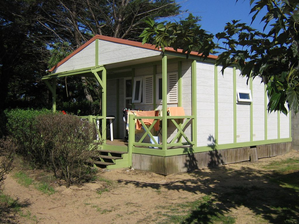 Camping les Coquettes, location mobil home