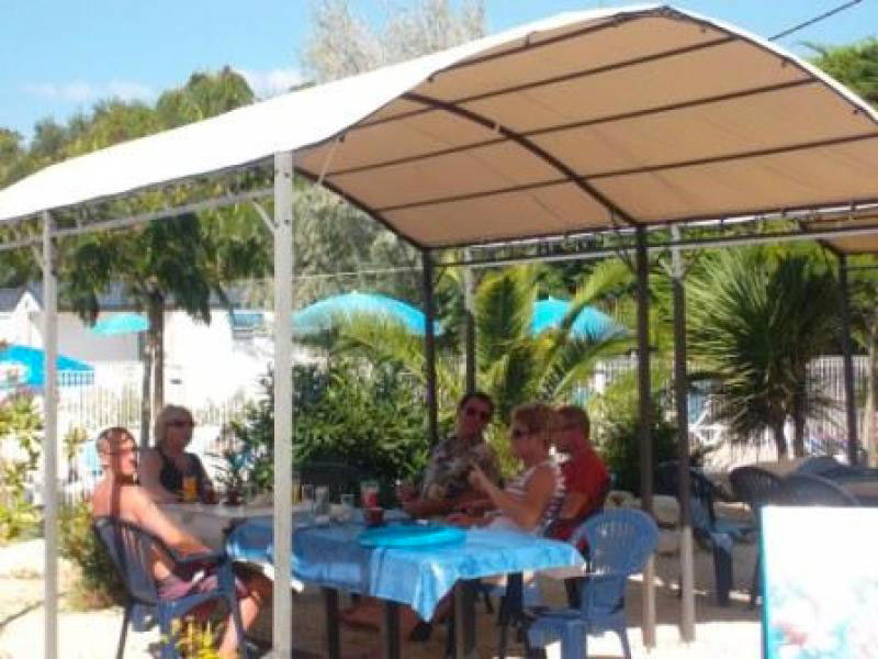 camping les Cupressus restaurant