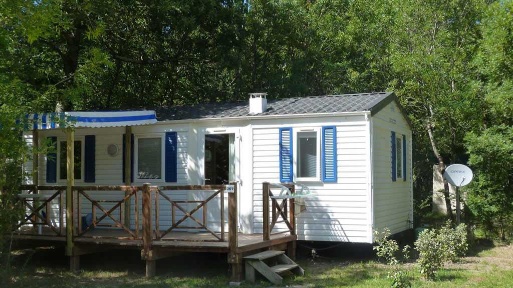 Camping la Maurie, location de mobil-homes