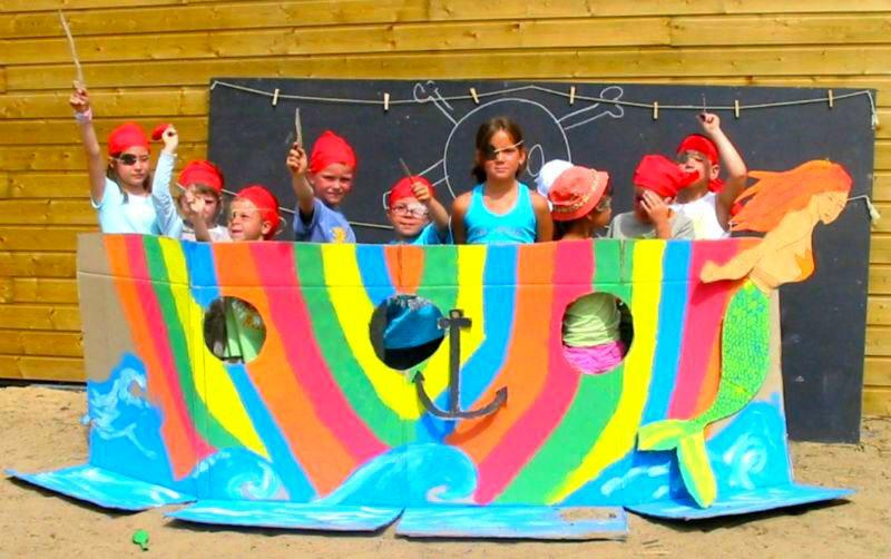 camping les Gros Joncs club-enfants