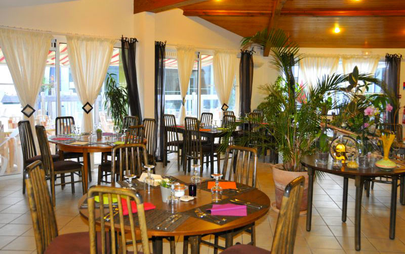 camping les Gros Joncs restaurant