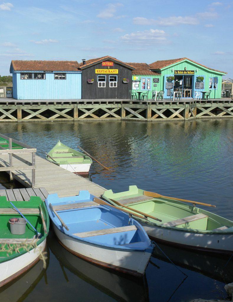 Le port des Salines à Gd Village Plage