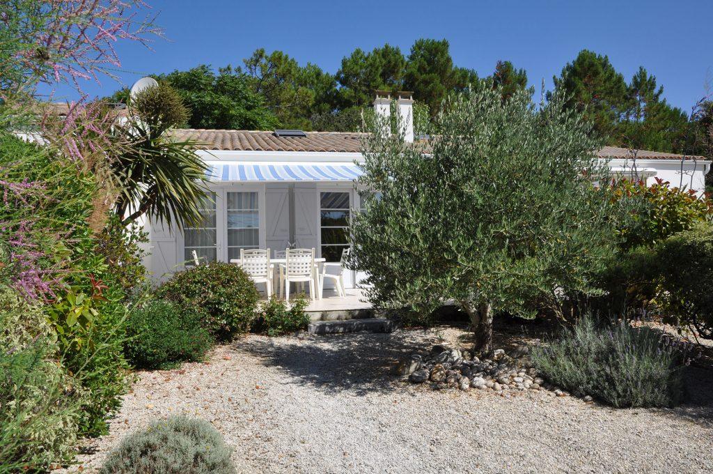 Résidence l'Abri Côtier, île d'Oléron, jardin privatif