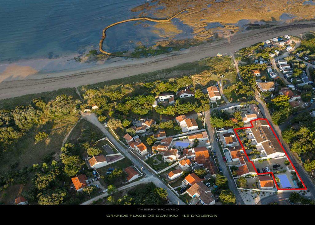 Résidence l'Abri Côtier, plage de Domino