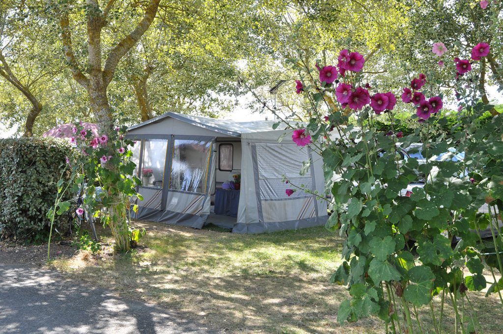 Camping l'Océan emplacement tente
