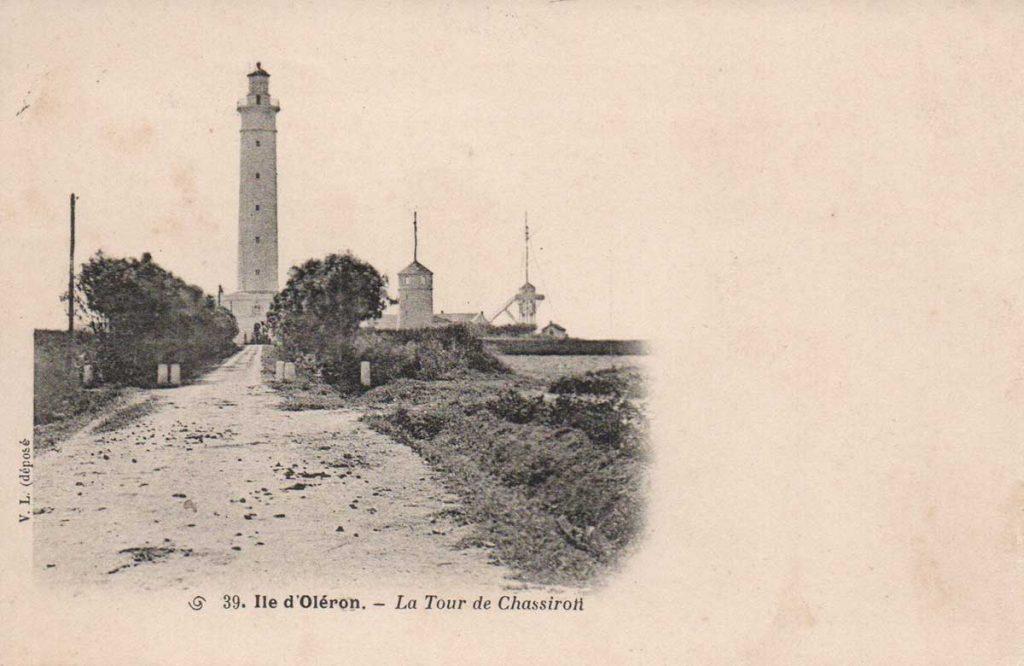 Phare de Chassiron avant 1926
