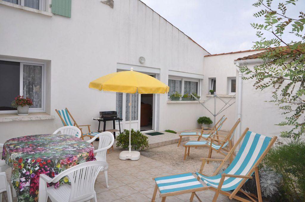 Location vacances Picard maison 1, terrasse