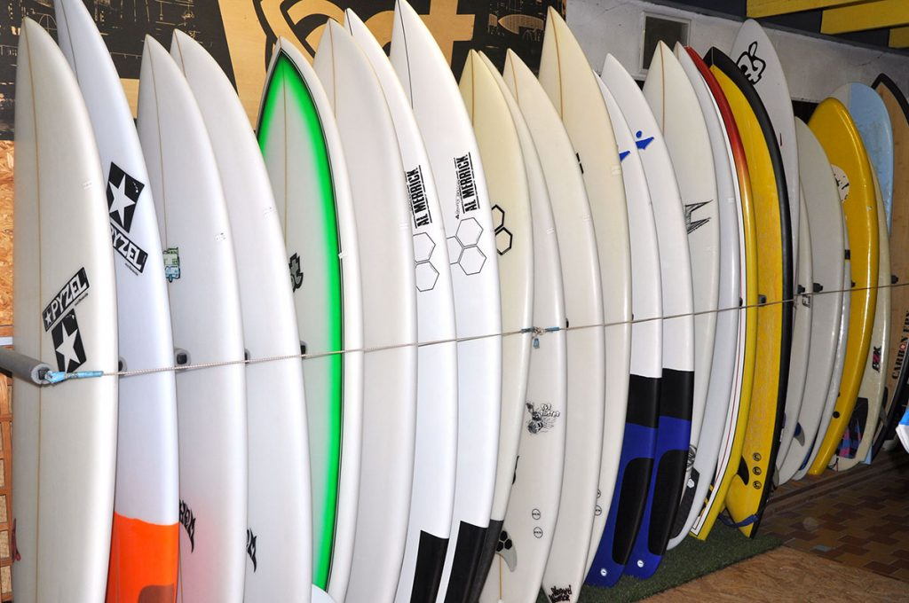 Tamarindo, île d'Oléron, surf shop