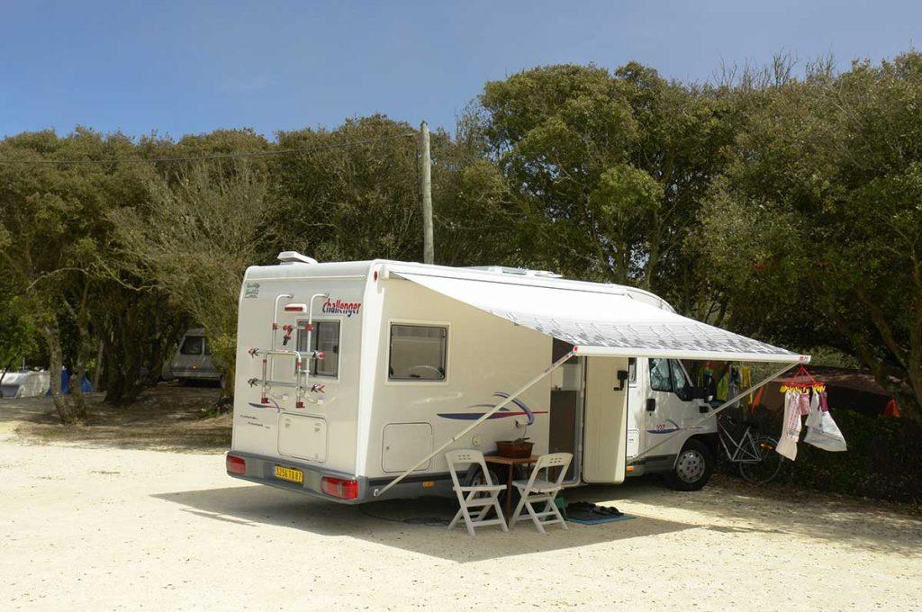 camping les Pins, la Cotinière, Oléron, accueil camping car