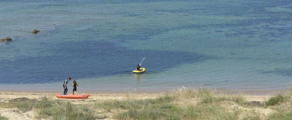 camping les Pins, la Cotinière, Oléron, accès direct plage et océan