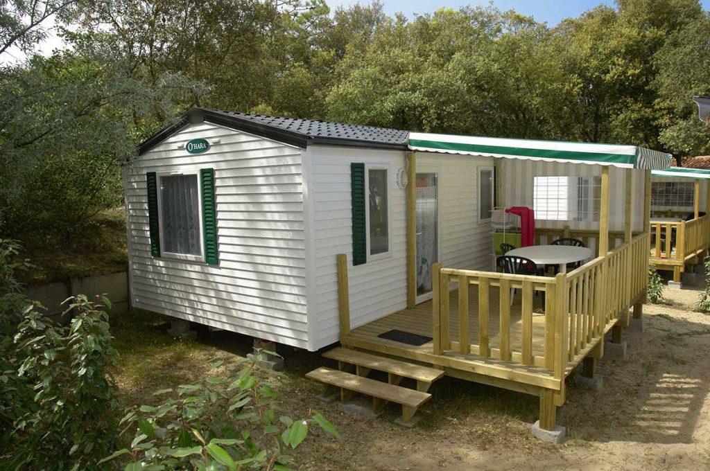 camping les Pins, la Cotinière, Oléron, location mobil-home