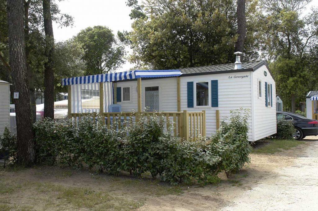 camping les Pins, la Cotinière, île d'Oléron, mobil-home