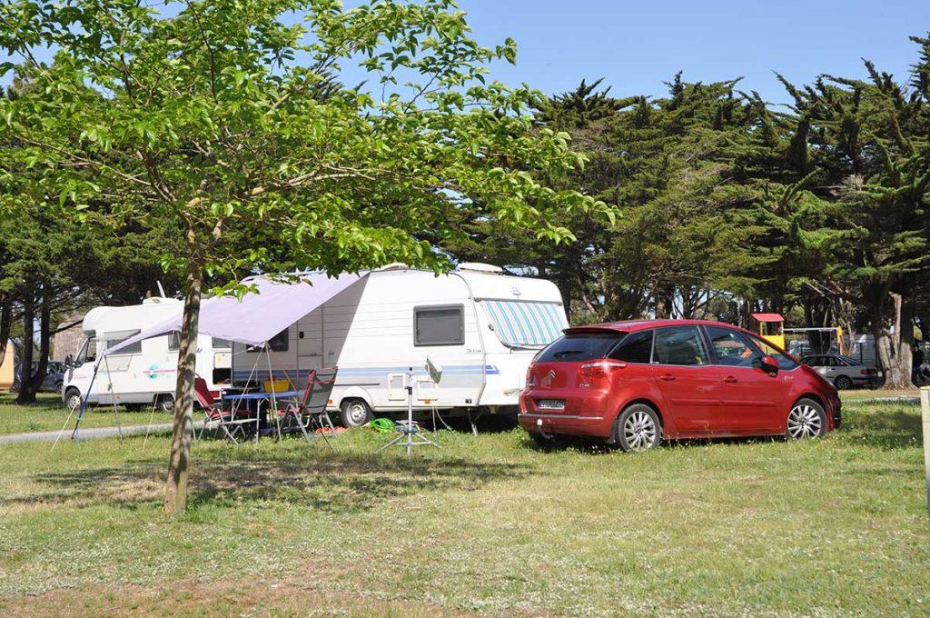 camping municipal de St Denis d'Oléron, tente, caravane, camping-car