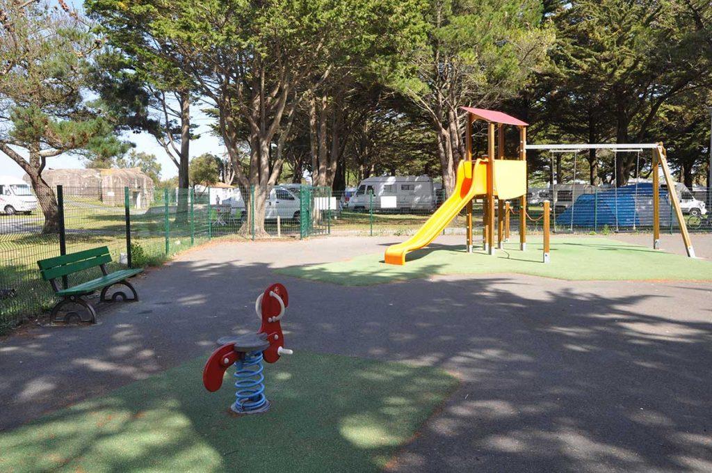 camping municipal de St Denis, Oléron, jeux enfants