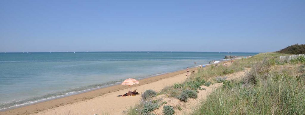 Camping municipal St Denis, Oléron, la plage