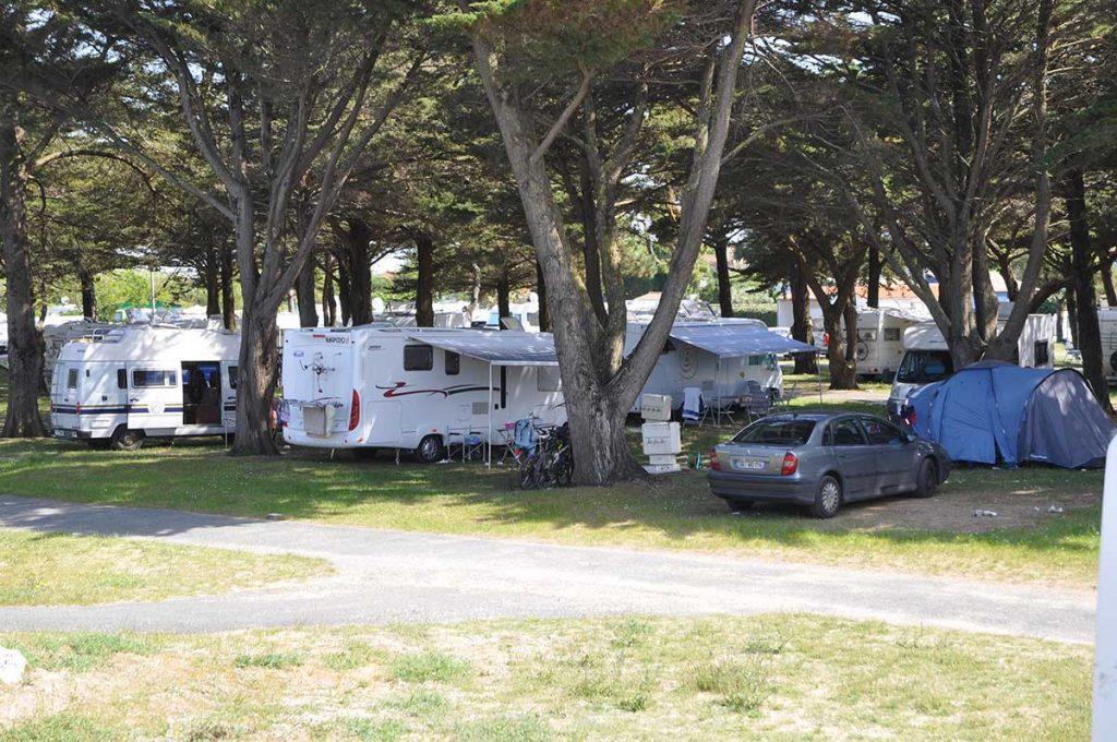 camping municipal de St Denis, Oléron, camping traditionnel
