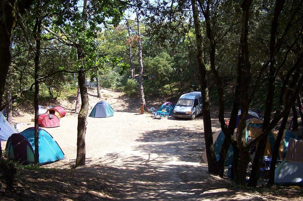 Camping municipal St Pierre d'Oléron, bord de mer