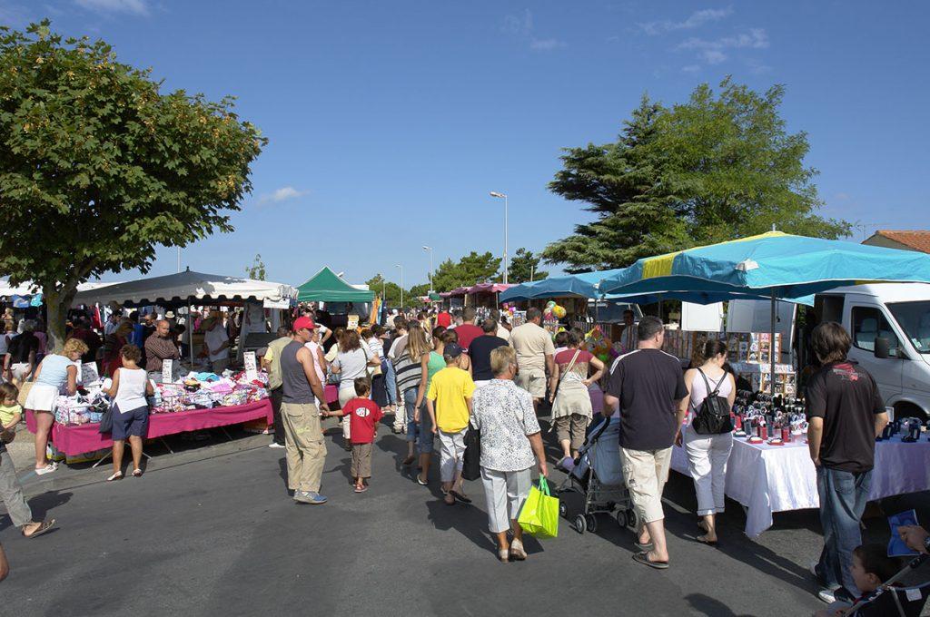 Marché de la Brée les Bains, Oléron