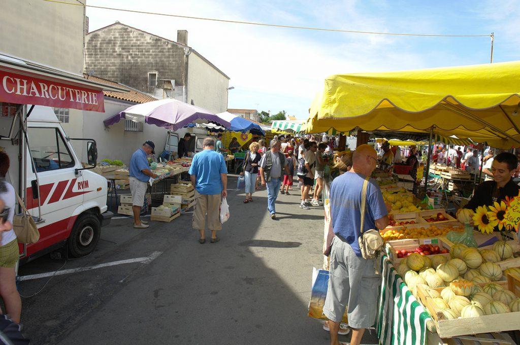 Marché de la Cotinière, île d'Oléron