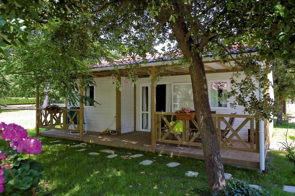 Camping le Sous Bois, île d'Oléron, location mobil-home