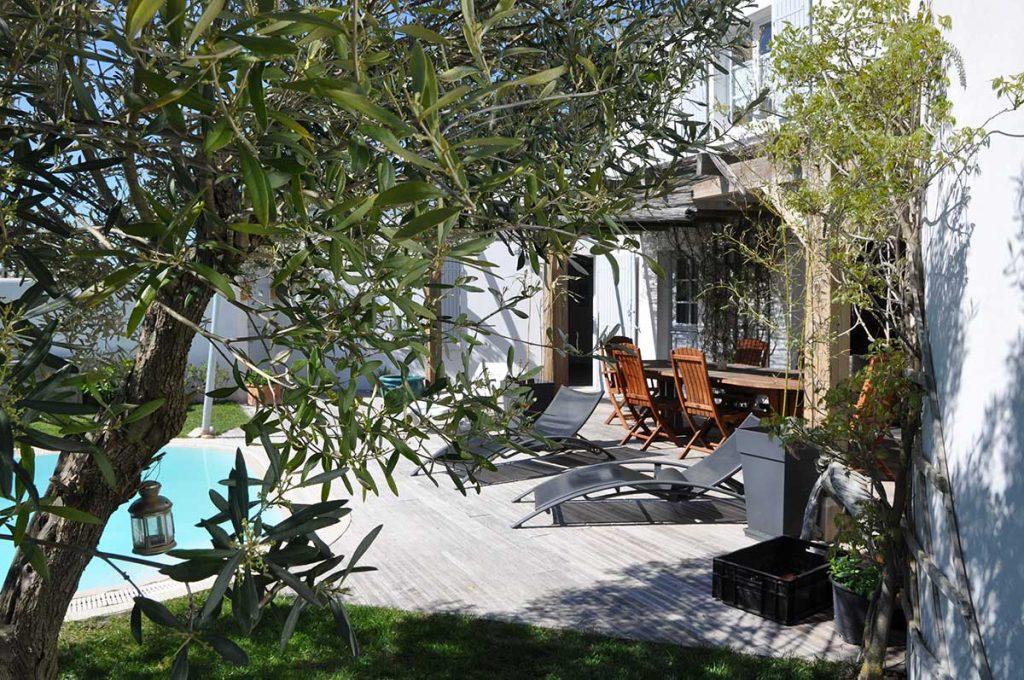 Chambre d'hôtes l'Ileau de Sophie, île d'Oléron, à l'ombre de l'olivier