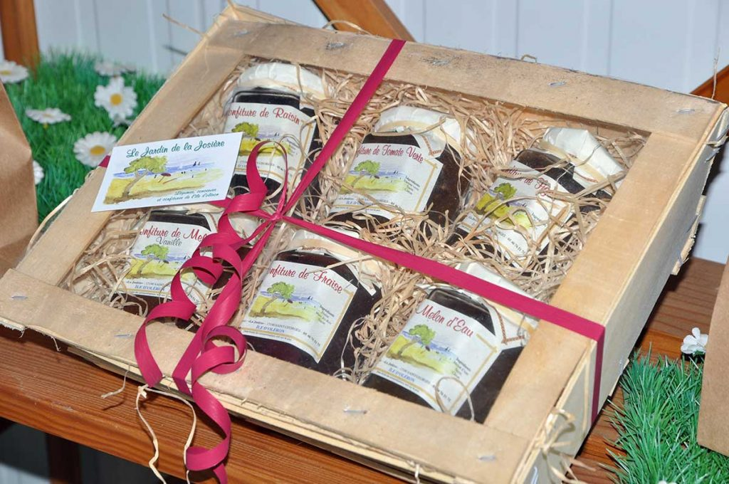 Coffret cadeau, souvenir, produits locaux, île d'Oléron
