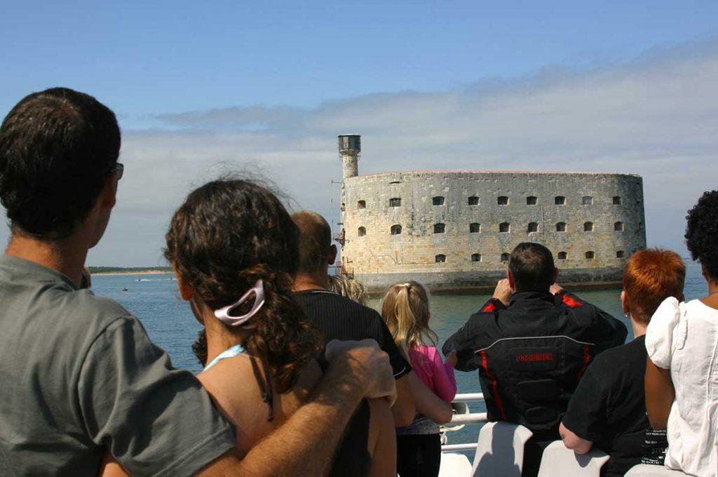 Croisières Inter Iles autour de Fort Boyard