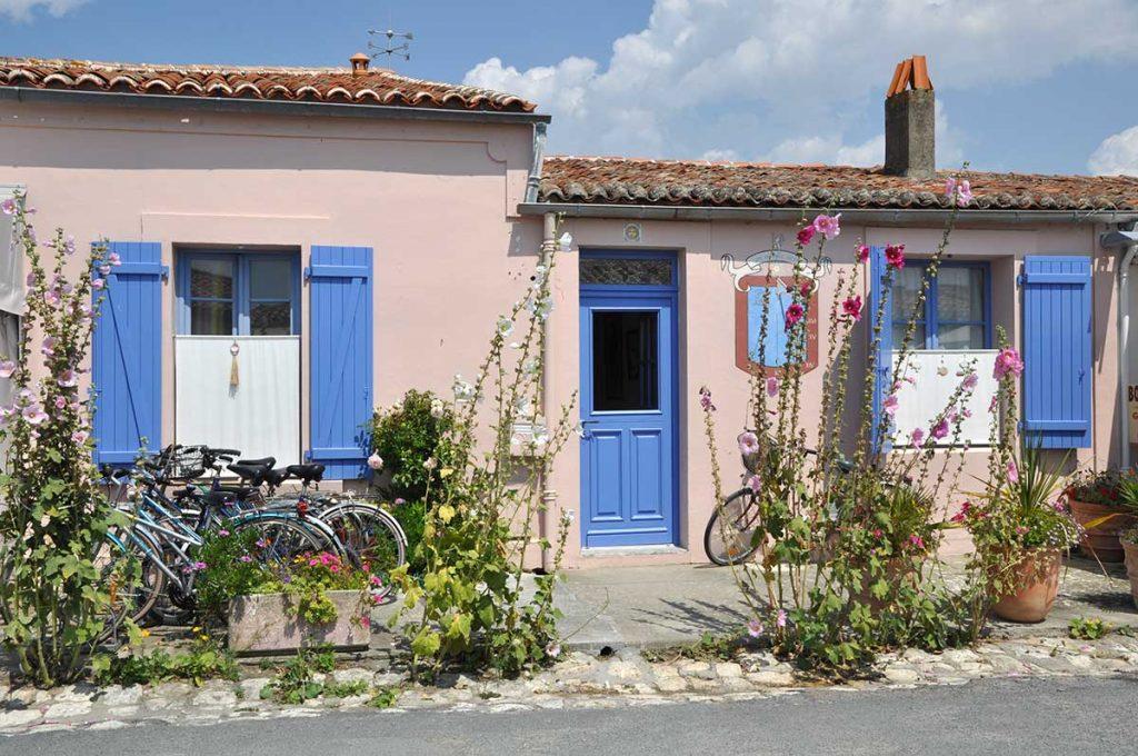 Croisières Inter Iles : île d'Aix, maison traditionnelle