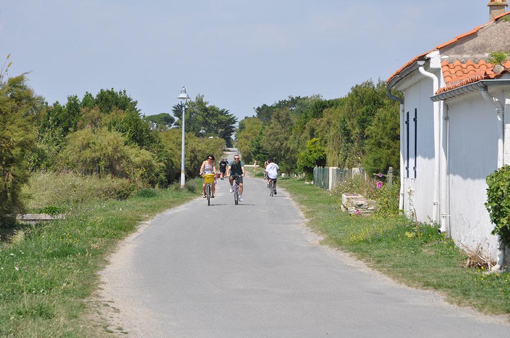 Balade en vélo sur île d'Aix
