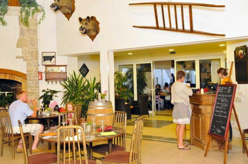 La Jonchaie, restaurant aux Sables Vignier, Oléron