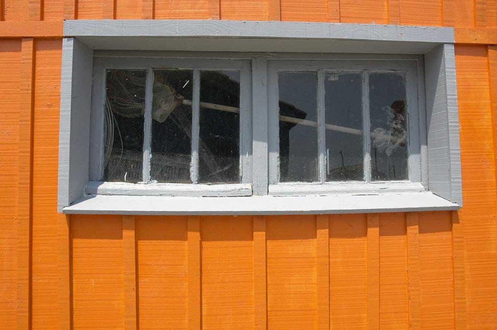 Chenal de la Baudissière, les cabanes des ostréiculteurs