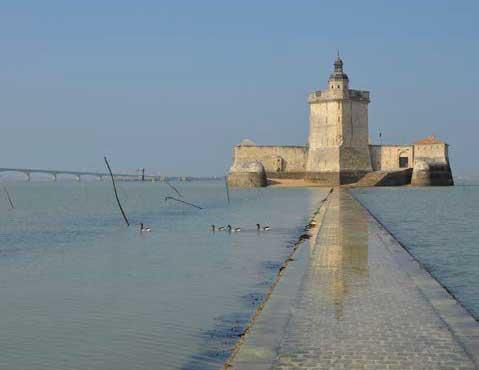 Fort Louvois marée basse