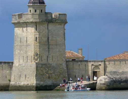 Fort Louvois marée haute