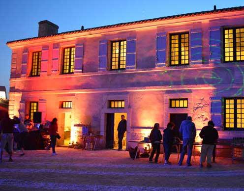 Fort Louvois la nuit
