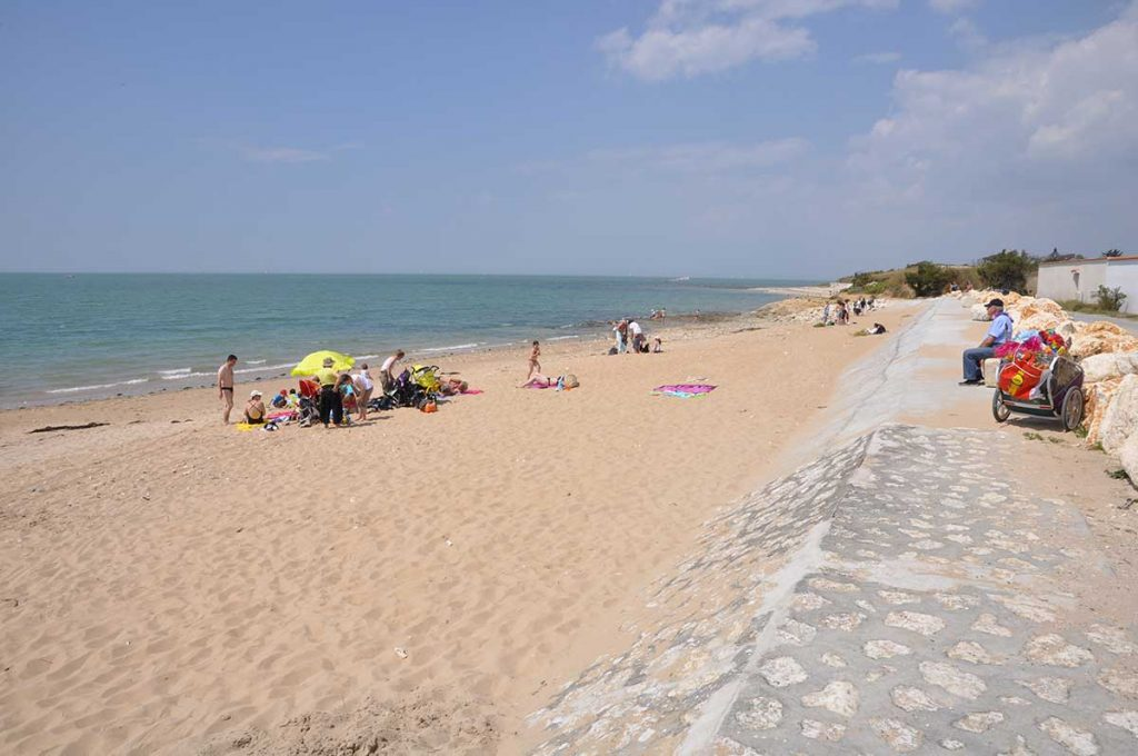 Ile d'Aix, petite halte à la plage