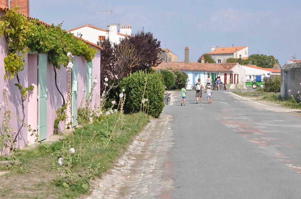 Ile d'Aix, balade dans le village