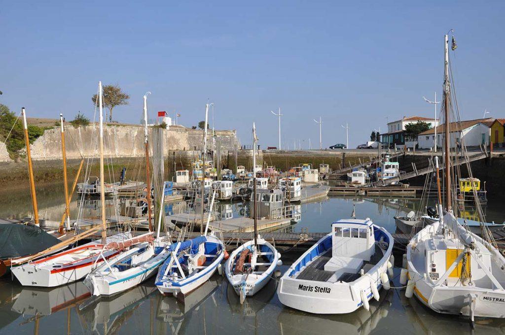 Le Port du Château d'Oléron, bateaux traditionnels