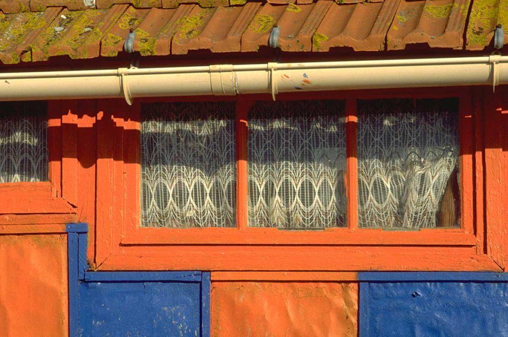 Ostréiculture, chenal d'Arceau, cabane à Gégène