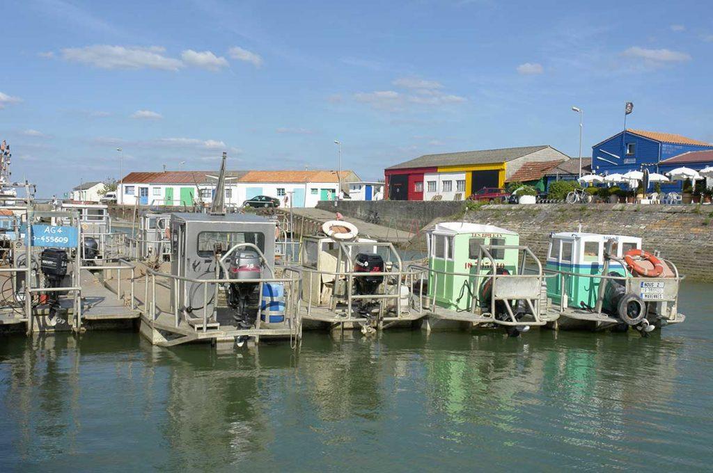 Le port ostréicole de St Trojan