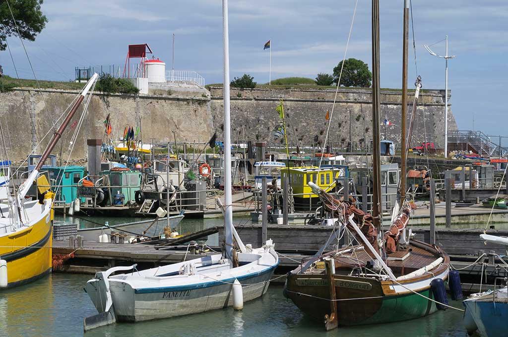 Port et citadelle du Château, île d'Oléron