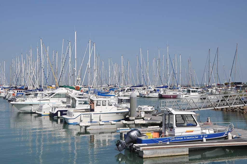Port de plaisance de St Denis d'Oléron.