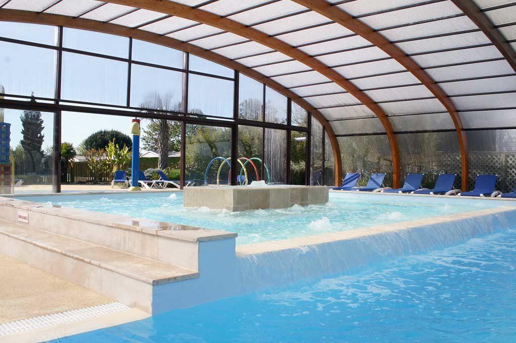 Airotel Mer et Soleil Oléron, piscine couverte